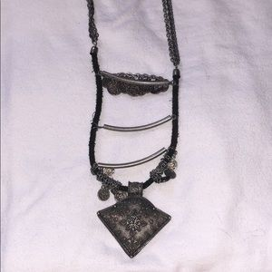 Free People necklace - chains twisted and damaged